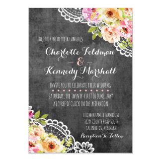 Rosas do casamento da casa da quinta & convite