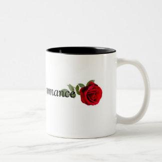 Rosas e caneca romance