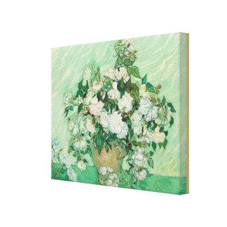 Rosas por Vincent van Gogh Impressão Em Tela