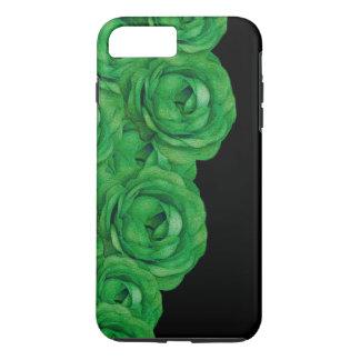 Rosas verdes fluorescentes capa iPhone 7 plus