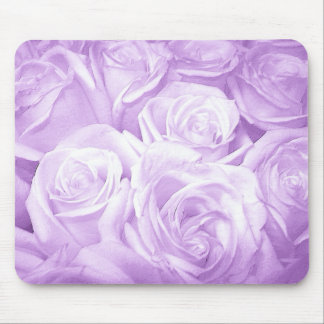 Roses_ roxo mouse pad