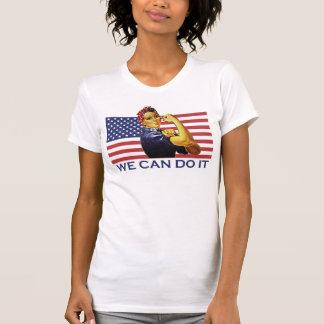 Rosie a camisa patriótica do rebitador t tshirts