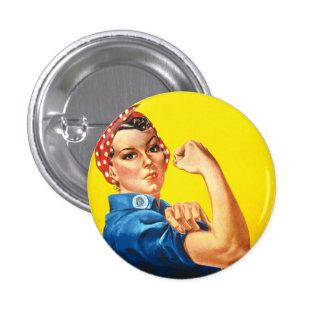Rosie o botão do rebitador botons