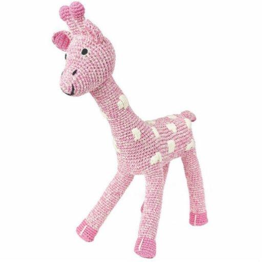 Rosie o ímã do girafa foto escultura