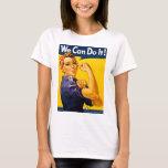 Rosie o rebitador nós podemos fazê-lo vintage camiseta