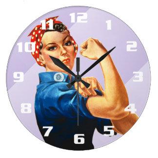 Rosie o rebitador relógio grande