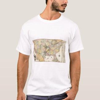 Rota 2 da montanha do ferro camiseta