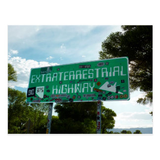 Rota 375, cartão da estrada do Extraterrestrial
