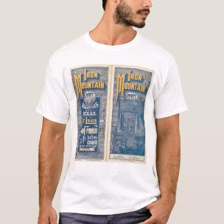 Rota da montanha do ferro camiseta