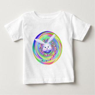 Rotação da cabeça do coelhinho da Páscoa T-shirt