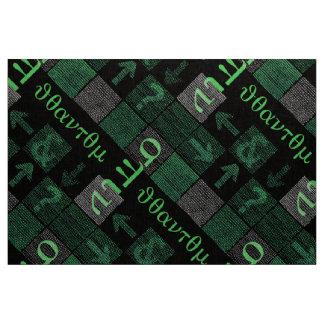 Rotação do quantum no weave binário tecido