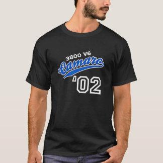 Roteiro 2002 de Camaro Camiseta