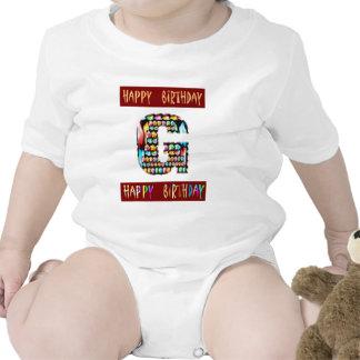 Roteiro de HappyBirthday - alfabeto ALFA decorativ Tshirts