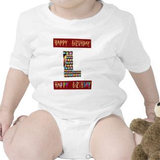 Roteiro de HappyBirthday - alfabeto ALFA decorativ Macacãozinhos Para Bebê