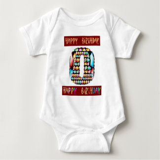 Roteiro de HappyBirthday - alfabeto ALFA Tshirt