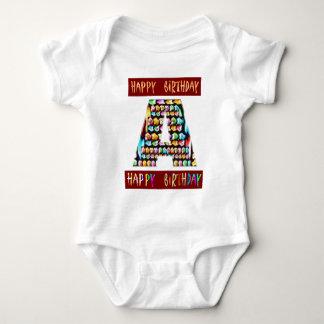 Roteiro de HappyBirthday - alfabeto ALFA Tshirts
