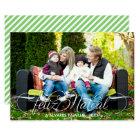 Roteiro natal de Cartão Feliz Foto | Branco Fonte