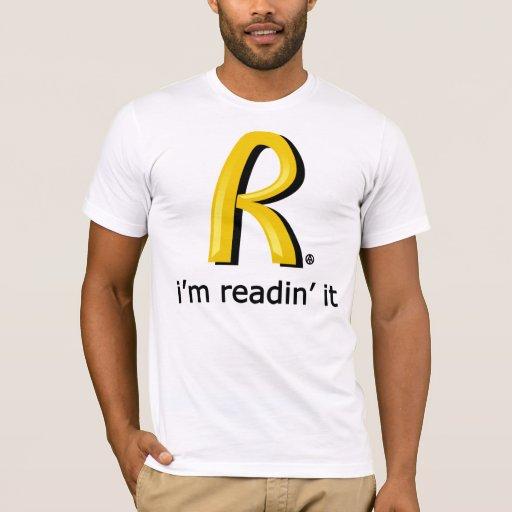 Rothbard McDonald's - I'm readin' it Camiseta