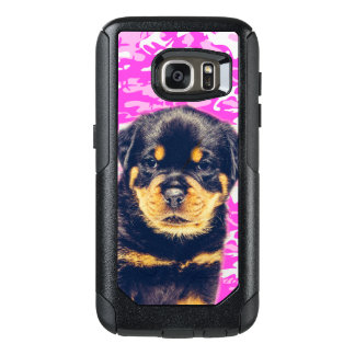 Rottweiler com Camo cor-de-rosa