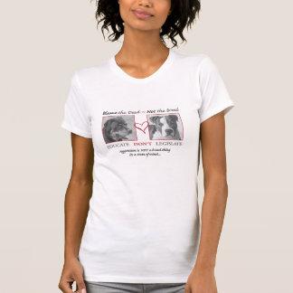 Rottweiler e pitbull camiseta