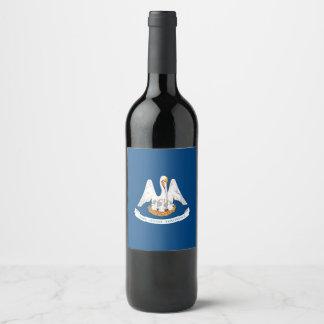 Rótulo De Garrafa De Cerveja Gráfico dinâmico da bandeira do estado de