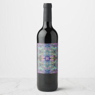 Rótulo De Garrafa De Cerveja Labirinto das cores