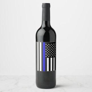 Rótulo De Garrafa De Cerveja Os EUA embandeiram o memorial simbólico fino de
