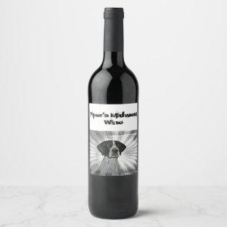 Rótulo De Garrafa De Cerveja Vinho do Midwest do gaiteiro