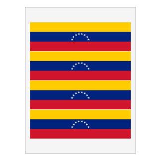 Rótulo De Garrafa De Vinho Bandeira de Venezuela