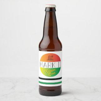 Rótulo Para Garrafa De Cerveja Cerveja de gengibre da marca II