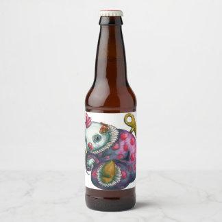 Rótulo Para Garrafa De Cerveja Normando