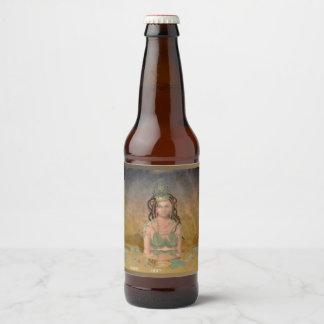 Rótulo Para Garrafa De Cerveja Rainha alfa (vazio)