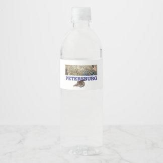 Rótulo Para Garrafa De Vinho ABH Petersburgo