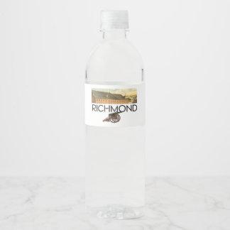 Rótulo Para Garrafa De Vinho ABH Richmond