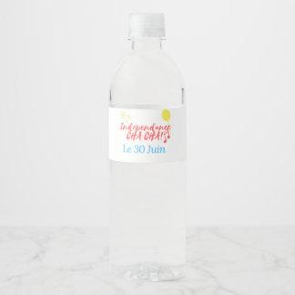 Rótulo Para Garrafa De Vinho Garrafa de água de RelovingCongo