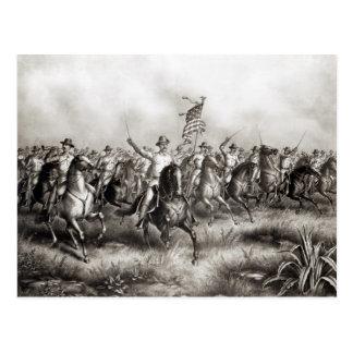 Rough Riders: Coronel Theodore Roosevelt Cartão Postal