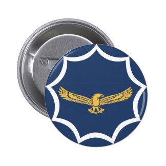 roundel das forças armadas da aviação de África do Bóton Redondo 5.08cm