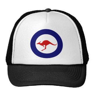 Roundel militar da aviação do canguru de Austrália Boné