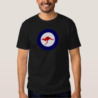 Roundel militar da aviação do canguru de Austrália T-shirt