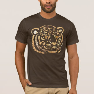 ROUPA africano do motivo do tigre Camiseta
