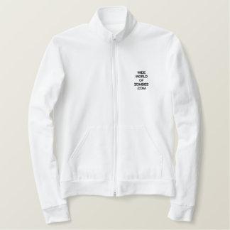 Roupa americano jaqueta bordada