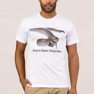 Roupa americano ocidental T do cobra lustroso do Camiseta