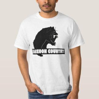 Roupa animal da camisa do desenhista do país do