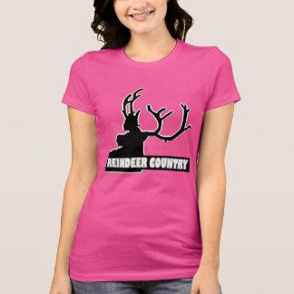 Roupa animal da camisa do país Designer#1 da rena