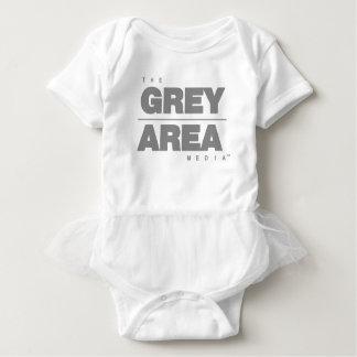 Roupa área cinzenta \ cinzenta body para bebê