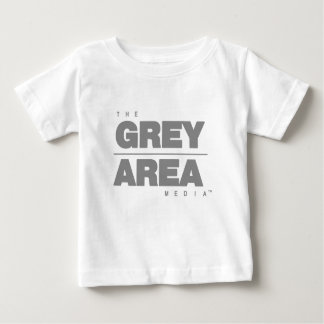 Roupa área cinzenta \ cinzenta camiseta para bebê