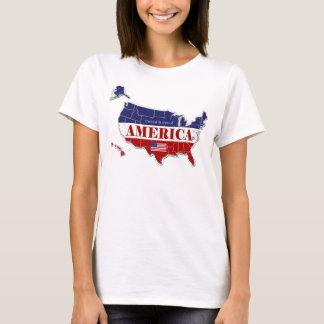 Roupa da camisa do desenhista do mapa dos estados