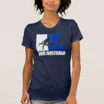 Roupa de Austrália do mergulho T-shirt