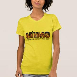 Roupa de MIMS - eis porque eu sou logotipo quente T-shirts