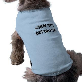 Roupa do animal de estimação do cão do camisa sem mangas para cachorro